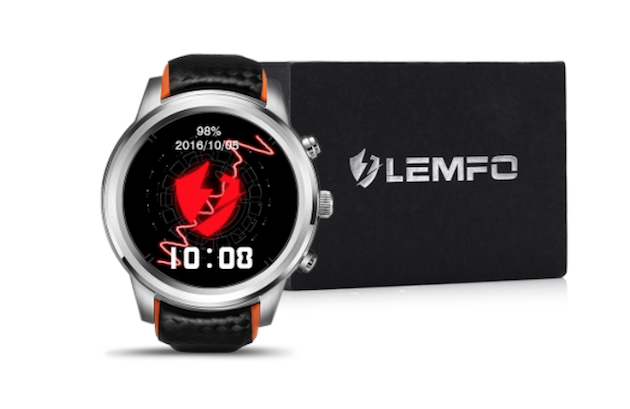 Foto LEMFO, Smartwatch Android con Sim e display OLED in offerta