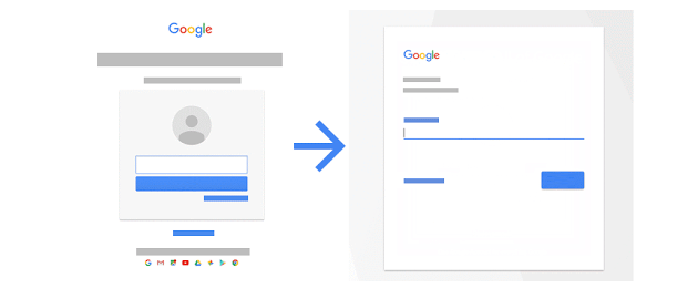 Google, nuova pagina di accesso in arrivo