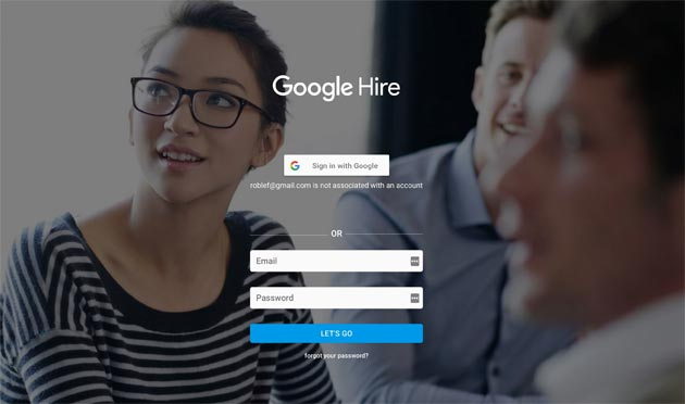Google sfida LinkedIn con Hire
