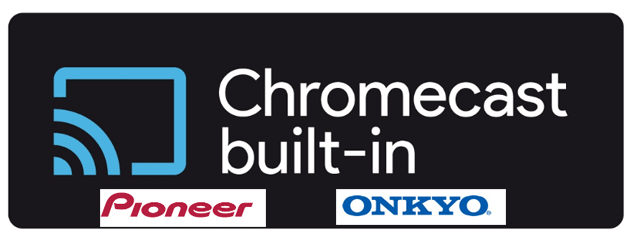 Pioneer e Onkyo attivano supporto Chromecast nei propri dispositivi audio