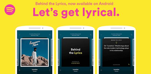 Spotify con Behind the Lyrics racconta la storia delle canzoni