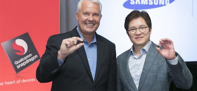 Samsung e Qualcomm lavorano sul processore del Galaxy S9