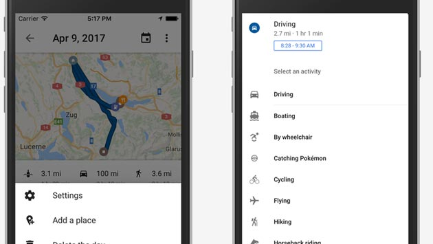 Google Maps, Timeline disponibile anche su iOS dopo Android e Web