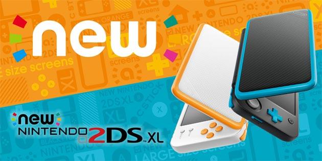 Nintendo 2DS XL, nuova console sulla scia del successo di Switch