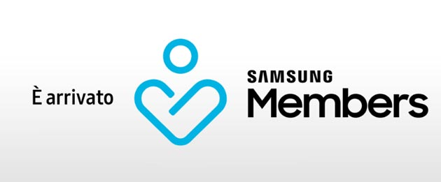 Samsung Members al posto di MySamsung e Samsung People