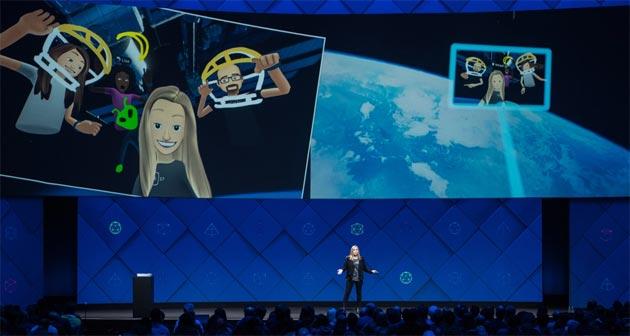 Facebook F8 2017: IA, Building 8, AR, VR, Spaces, Messenger e altri progetti e novita' presentate