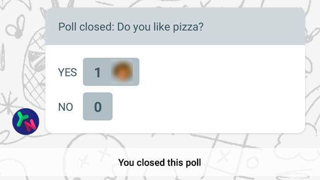 Google Allo permette di creare sondaggi