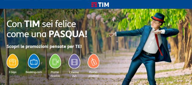 TIM per Pasqua 2017: Giga, Ebook, sconti su smartphone e Cinema 2x1