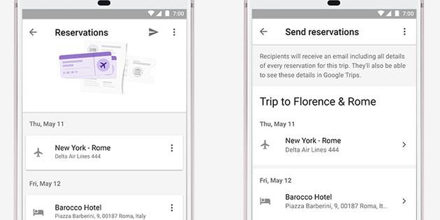 Google Trips, consigli per pianificare la prossima vacanza