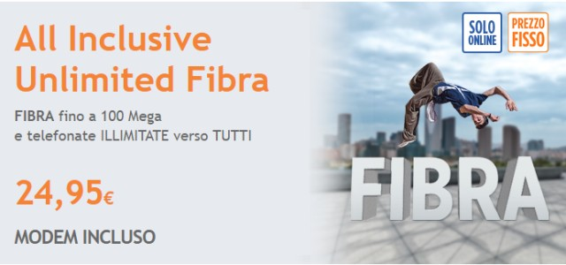 Infostrada All Inclusive Unlimited Fibra e Absolute Fibra