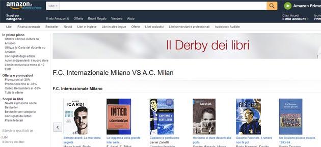 Derby dei libri su Amazon.it