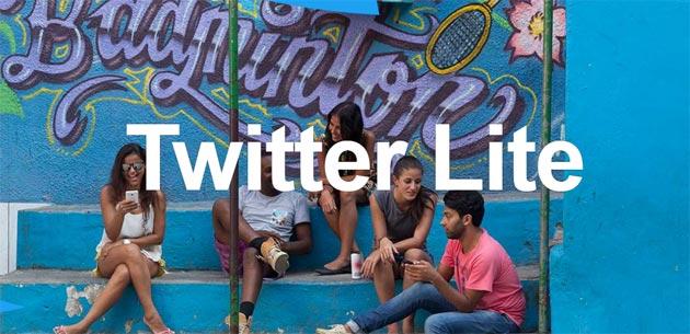 Twitter Lite via Web o app Android ottimizza Twitter per connessioni lente facendo risparmiare dati