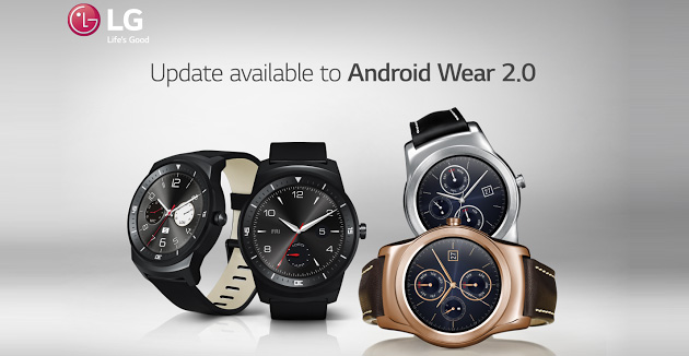 LG distribuisce Android Wear 2 su Watch R e Watch Urbane, no G Watch