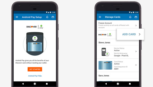 Google integra Android Pay nelle app di Mobile Banking