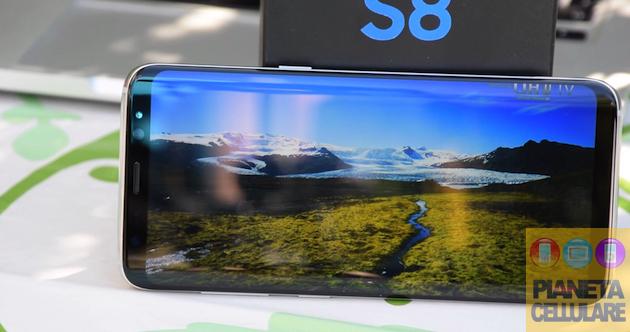 Recensione Samsung Galaxy S8, schermo enorme in dimensioni compatte