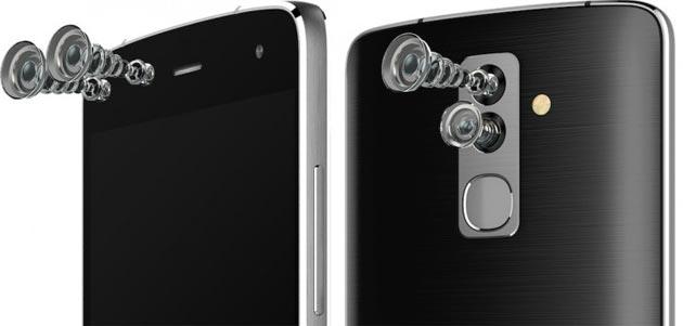 Alcatel Flash, smartphone con quattro fotocamere: due sensori davanti e dietro