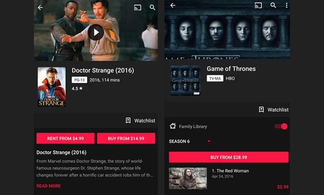 Google Play Film: arriva supporto HDR. Intanto, migliorato layout della app
