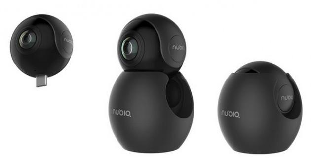 Nubia NeoAir VR, videocamera che registra a 360 gradi