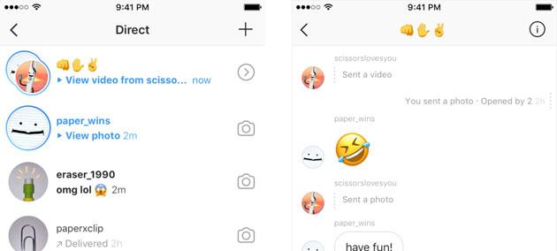 Instagram Direct, come funzionano i Messaggi privati con Foto e Video a scomparsa su Instagram