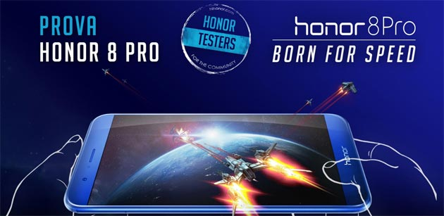 Honor 8 Pro, tester cercasi