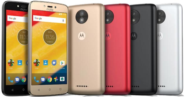 Motorola Moto C e C Plus ufficiali, telefoni Android 7 Nougat a basso costo