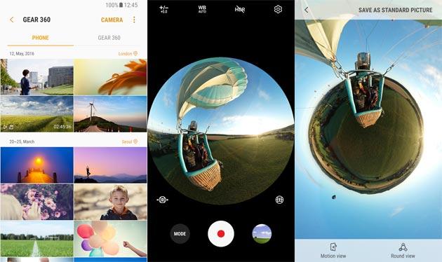 Samsung Gear 360, nuova app disponibile nel Play Store