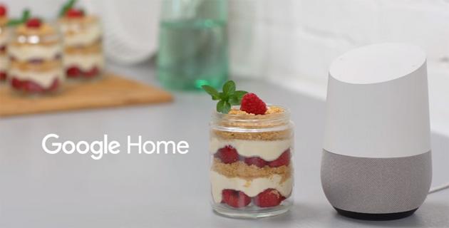 Google Home fornisce istruzioni passo passo per 5mila ricette di cucina