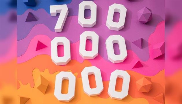 Instagram festeggia il nuovo record: toccata quota 700 milioni di utenti attivi