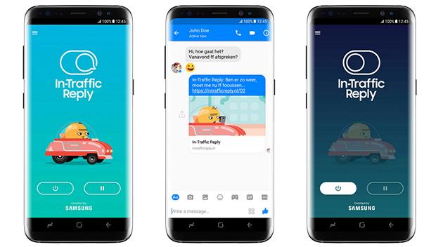 Samsung In-Traffic Reply, app per evitare distrazioni alla guida