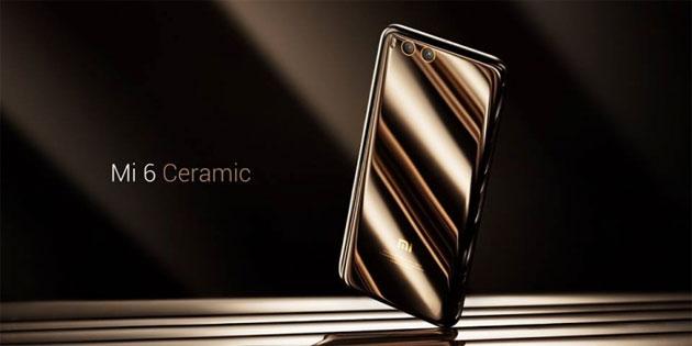 Xiaomi Mi 6 Ceramic Edition ufficiale. Mi 6 Plus potrebbe non arrivare