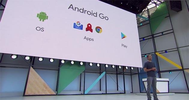 Android GO, Google semplifica Android sui telefoni economici