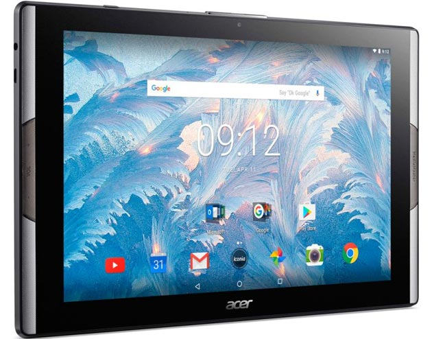 Acer Iconia Tab 10 con display Quantum Dot e Iconia One 10 ufficiali
