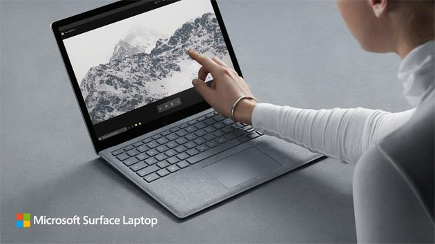 Microsoft Surface Laptop, computer portatile con Windows 10 S in Italia da 1.169 euro