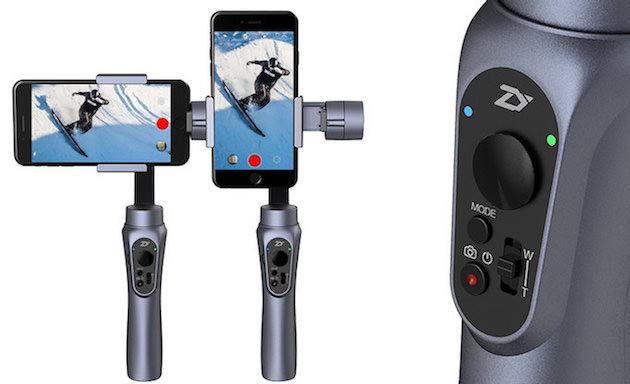 Zhiyun Smooth-Q, in sconto lo stabilizzatore per Smartphone