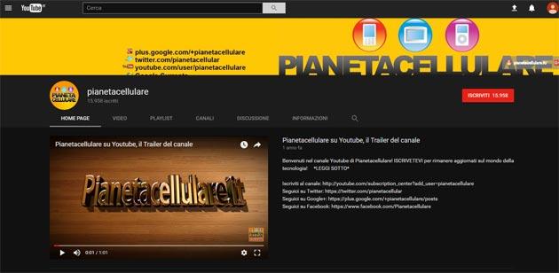 Youtube fa provare in anteprima la nuova grafica in Material Design con tema Scuro
