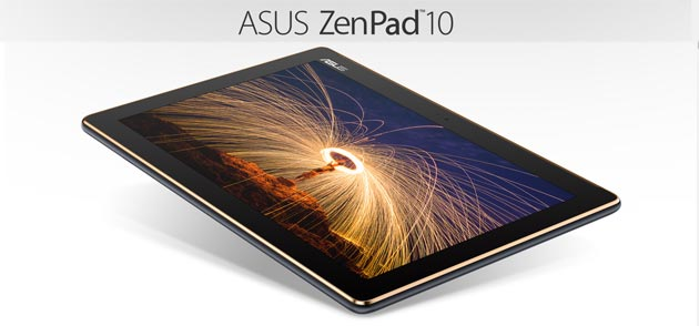 Asus Zenpad 10 Z301MFL e Z301ML, tablet Android 7 Nougat