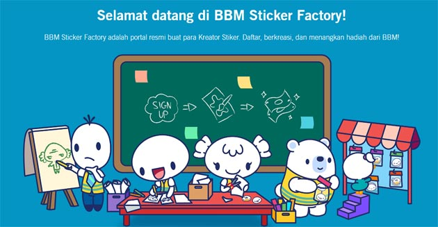 BlackBerry lancia BBM Sticker Factory per artisti che vogliono creare Adesivi digitali