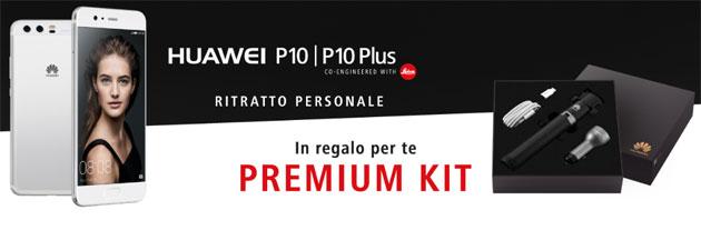 Huawei Premium Kit con P10 e P10 Plus