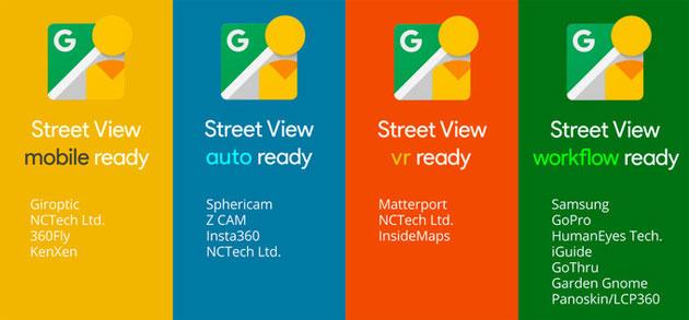 Google certifica fotocamere 360 pronte per Street View