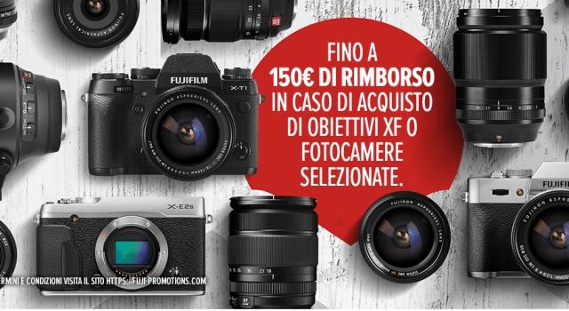 Fujifilm e Nikon lanciano Iniziativa Cash Back: Fino a 200 euro di rimborso