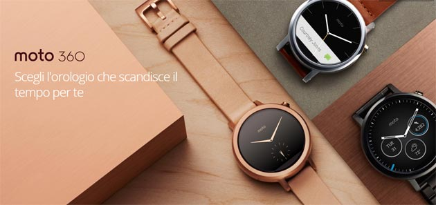 Foto Moto 360 2a Gen riceve Android Wear 2.0