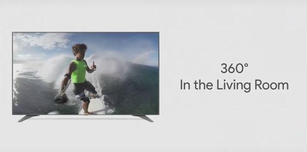 Youtube porta i video VR 360 in TV