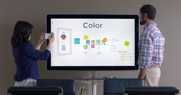 Google Jamboard, lavagna digitale 4K da 5mila dollari