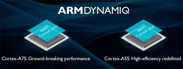 ARM annuncia Cortex-A75, A55 e Mali-G72