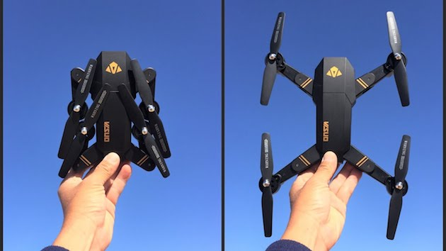 VISO XS809W, drone compatto in sconto in stile DJI