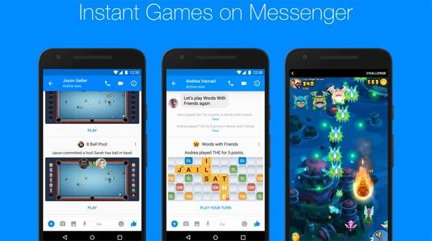 Messenger, come giocare ai giochi istantanei di Facebook