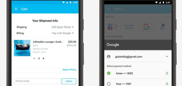 Ok Google Assistant permette lo scambio di denaro