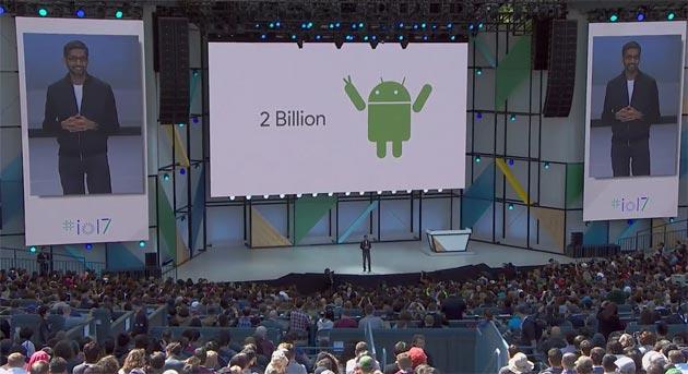 Android conta 2 miliardi dispositivi attivi