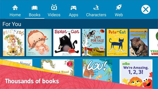 Amazon FreeTime, app Android e Fire OS per contenuti adatti ai bambini