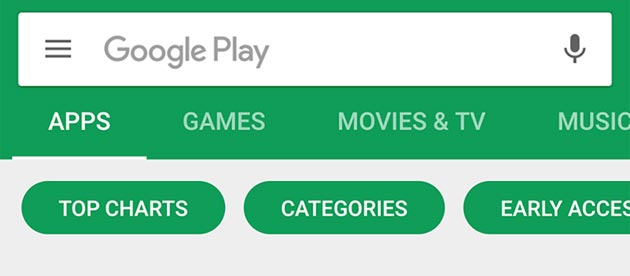 Google Now e Play Store, problemi per test lato server
